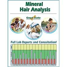 Analisi minerali nei capelli - Risultati e consulenza - Comprende il kit  dei campioni dei test 2b82a024e1818