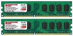 Komputerbay 4GB 2x 2GB 800MHz