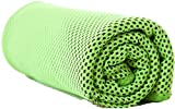 #9: FRIENDSKART New Magic Coolcore Ice Cold Cool Towel Reuseable Cycling Jogging Hiking Sports Golf Gym Exercise Ice Cold Towel Summer Cooling