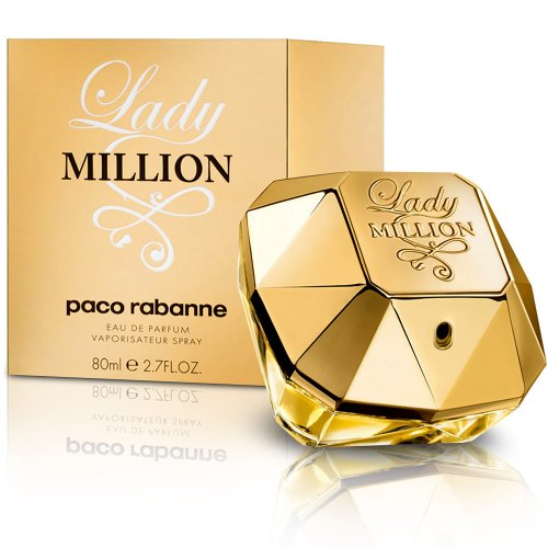 Paco Rabanne Lady Million Eau de Parfum, Donna, 80 ml