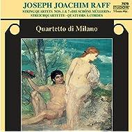 Raff: String Quartets Nos. 1 & 7