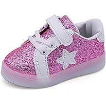 YanHoo Zapatos para niños Bebé Fashion Star Sneaker Zapatos Ligeros para niños niños y niñas Zapatos