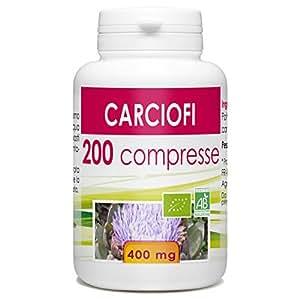 carciofi - Box di 200 compresse da 400 mg