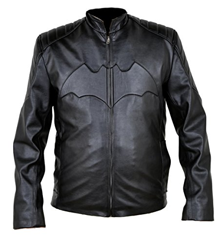 classyak da uomo Batman Fashion Giacca in pelle Sheep Black L Chest