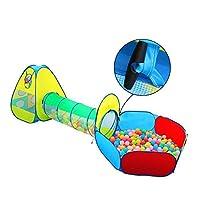 INKERSCOOP 3 in 1 Pop-Up-Spielzelt für Kinder, Kinderzelt mit krabbeltunnel, geeignet für draußen und drinnen 2017 neues und innovatives Design, mit Tragbaren Tasche