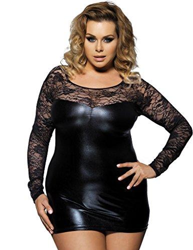 ohyeahlady Damen Kleid schwarz schwarz, schwarz, R7393P1120