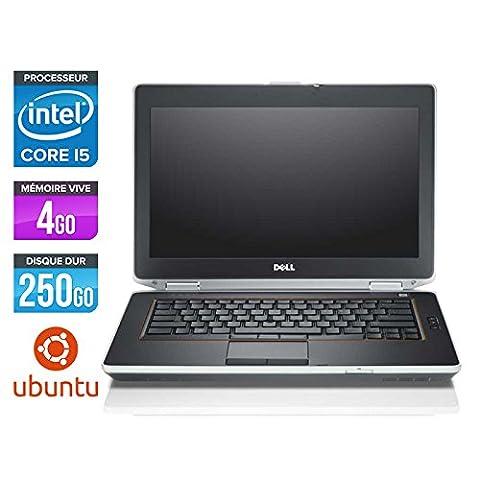 Dell Latitude E6420 - PC portable - 14,1' - Gris (Intel Core i5 2520M / 2.50 GHz, 4 Go de RAM, Disque dur 250 Go, Graveur DVD, Wifi, Linux -