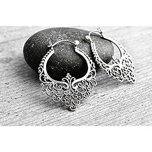 925er Silber Ohrringe KARMA II