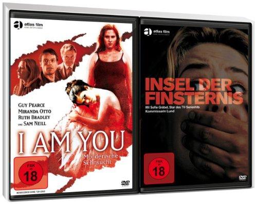 FSK 18 Spar-Set 2 DVDs Thriller : I Am You - Mörderische Sehnsucht + Insel der Finsternis