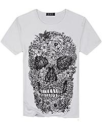 Camiseta para Hombre,RETUROM Camisa de Manga Corta de la Camiseta de la Manga de