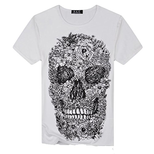 Camiseta para Hombre,RETUROM Camisa de Manga Corta de la Camiseta...
