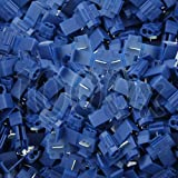 1000 Stück Abzweigverbinder / Schnellverbinder / Stromdieb blau 1,5 - 2,5 qmm