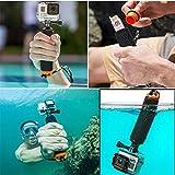 Racksoy Wasserdicht Aufschwimmende Griff Halterung Stange Flotieren Stick für Gopro Hero 5, 4, 3+, 3, 2, 1 und Action Cam, Sport Kameras usw. -
