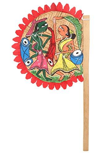 ananth-crafts-peinte-a-la-main-tribal-dance-tiges-de-bambou-ventilateur-pour-decorations