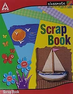 ITC Scrap Book - 28 X 22 cm, Soft Cover, Unruled