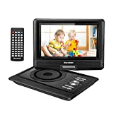 Excelvan Reproductor de DVD portátil con Pantalla TFT LED de 10,5 ''