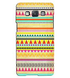 Citydreamz Multicolor Stripes/Shapes Hard Polycarbonate Designer Back Case Cover For Samsung Galaxy J2 2016 Edition