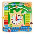 ColorBaby - Juego educativo de madera, calendario diseño bosque (43896) de ColorBaby
