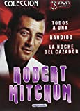 Robert Mitchum 3 DVD La noche del Cazador + Todos a una + Bandido