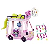 Hasbro Littlest Pet Shop LPS Shuttle Rosa, Amarillo Chica - Figuras de...