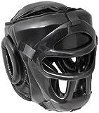 Bad Company I Full Face Kopfschutz I Helm mit schwarzem Visier, abnehmbar I Gr. S - XL