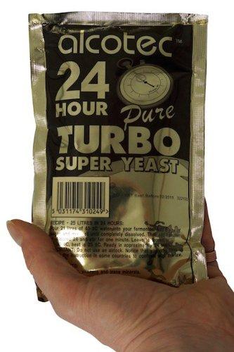 'Alcotec' Turbohefe 24H - 14% Alkohol in 24 Stunden