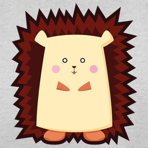 Cute Hedgehog - Herren T-Shirt - 13 Farben Hellgrau