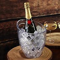 Frosted hielo cubo 3L–plástico–vino y champán enfriador