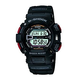 Casio G-Shock Digital White Dial Men's Watch – G-9000-1VDR (G201)