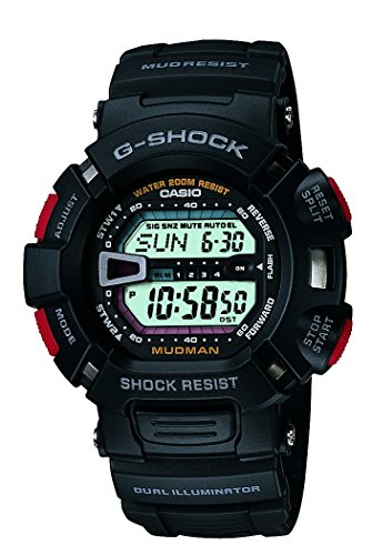 CASIO G Shock G 9000 1VDR Mudman Men's Watch Mud Master usato  Spedito ovunque in Italia