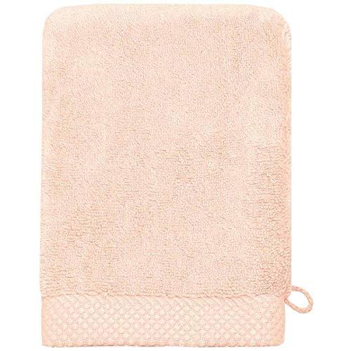 Sensei La Maison du Coton Gant De Toilette Sensoft - Couleur - Poudre, Taille - 16x21