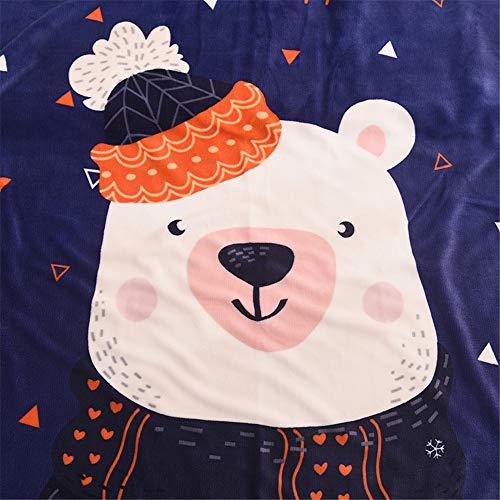 Decke Super Weicher Und Warmer Superluxus Cartoon Tier Kind Jugendlich Junges Mädchen Oder Erwachsener Decke Beste Geschenkdecke Mehrere Stile,4