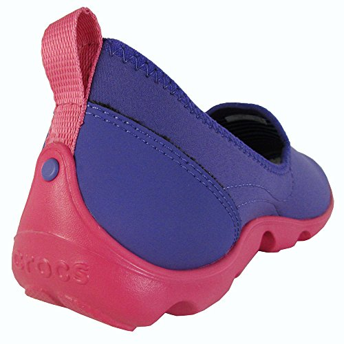 crocs Duet Busy Day Skimmer 14698-02S-520 Damen Ballerinas Ultraviolet/Poppy