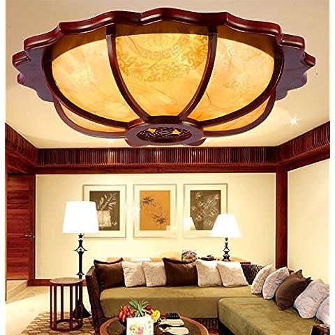 Kagy salón chino moderno restaurante minimalista se encenderá la luz de estudios antiguos y elegante habitación redonda vitela luz de techo amarillo , pequeño diámetro 560mm