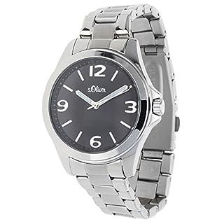 s.Oliver Damen-Armbanduhr Analog Quarz SO-15103-MQR