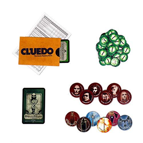 51 4ODjoDqL - HARRY POTTER Cluedo 40X26-+9 Años, multicolor, Sin tañosllaños (ELEVEN FORCE 82288)