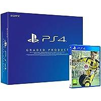 PlayStation 4 500 Gb C Chassis (Ricondizionato Certificato) + FIFA 17