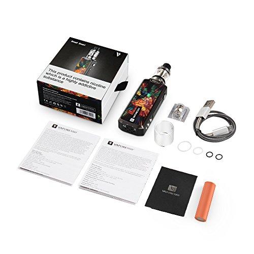 Vaporesso® Tarot Mini 80W E Zigarette/ E shisha Starter Kit mit OMNI Board, 0,40Ω Verdamperkopf (EUC coil), 2ML Tank, Top Fill, inklusive 18650 Batterie, Ohne Nikotin, Farbe in Mist