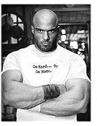 Universal nutrition t-shirt avec inscription animal hard or home go go