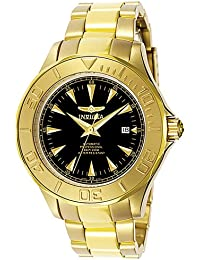 Invicta Ocean Ghost III Gold Tone Automatic Black Dial