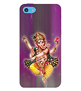 Tandava Ganesha 3D Hard Polycarbonate Designer Back Case Cover for Apple iPod Touch 6 (6th Generation)