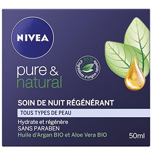 Nivea Pure and Natural Notte Rigenerante Crema 50 ml