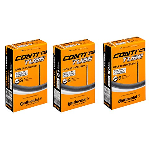 Continental Race 28 700c x 20-25 Bike Tubes - 80mm Presta Valve by Continental