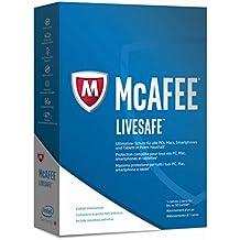 McAfee LiveSafe 2017 für eine unbegrenzte Anzahl an Geräten (Minibox - Code in a Box)