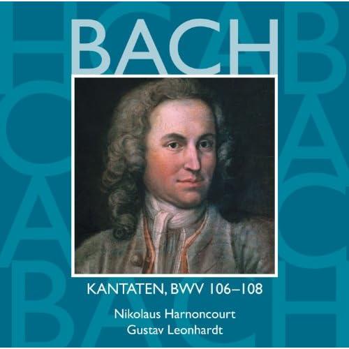 """Cantata No.106 Gottes Zeit ist die allerbeste Zeit [Actus tragicus] BWV106 : III Aria - """"In deine Hände"""" [Boy Soprano] - Aria & Chorale - """"Heute wirst du mit mir"""" [Boy Soprano, Bass]"""