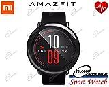 AMAZFIT Smartwatch e Fitness Tracker Huami: orologio smart con cardiofrequenzimetro, Bluetooth, contapassi, conteggio calorie, monitoraggio del sonno, notifiche chiamate, per smartphone IOS/Android