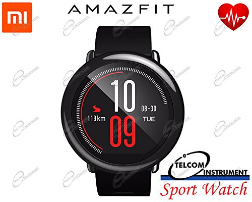 Xiaomi AMAZFIT Pace - Smartwatch Multideporte 1.34'' Tactile, Gps y Bluetooth, International version, Negro