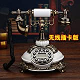 Motesuvar Antica Casa Europea Ufficio Pastorale, Telefono, Vintage Fashion, Creative Antico, Telefonia Fissa,Vogue White (Radio Mobile Cina Pesce) - Motesuvar - amazon.it