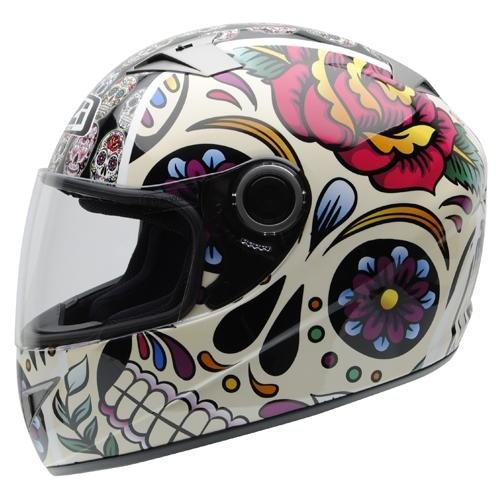 NZI - Casco Integral Must II Mexican Skulls (S)