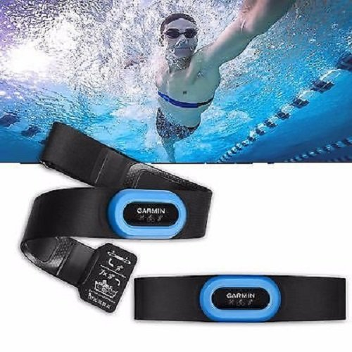 Garmin Heart Rate Monitor Strap – HRM-Tri, Black/Blue